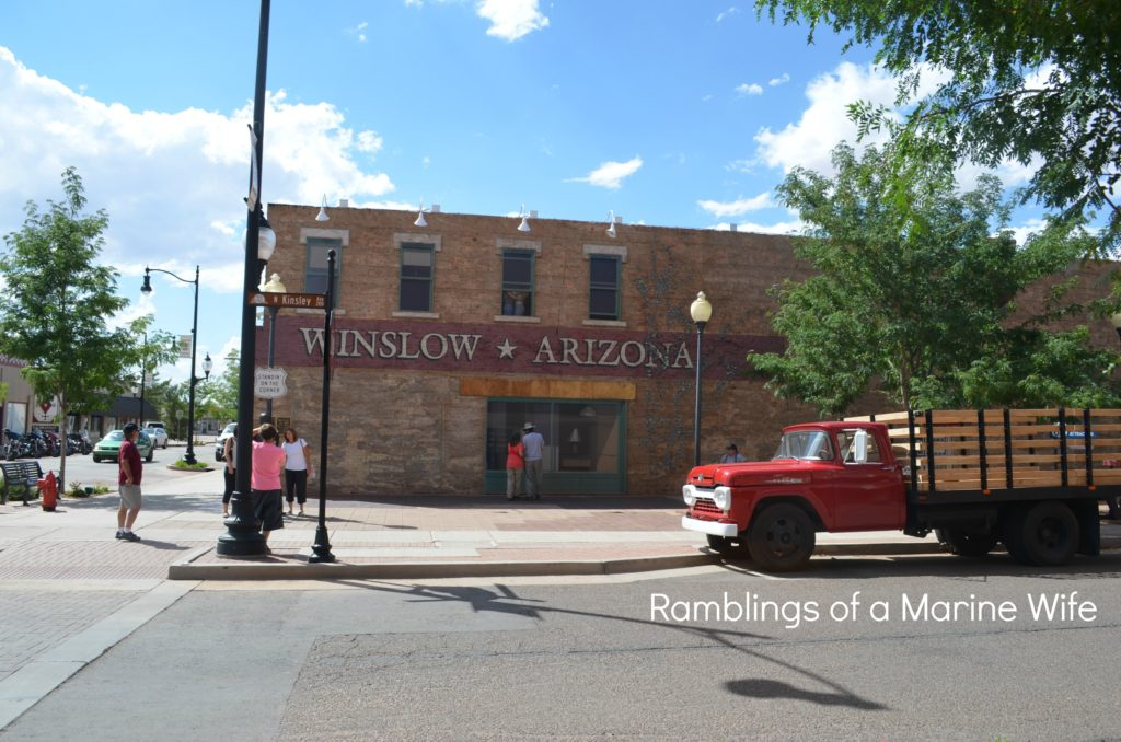 Standing On A Corner In Winslow Arizona Nothing But Room