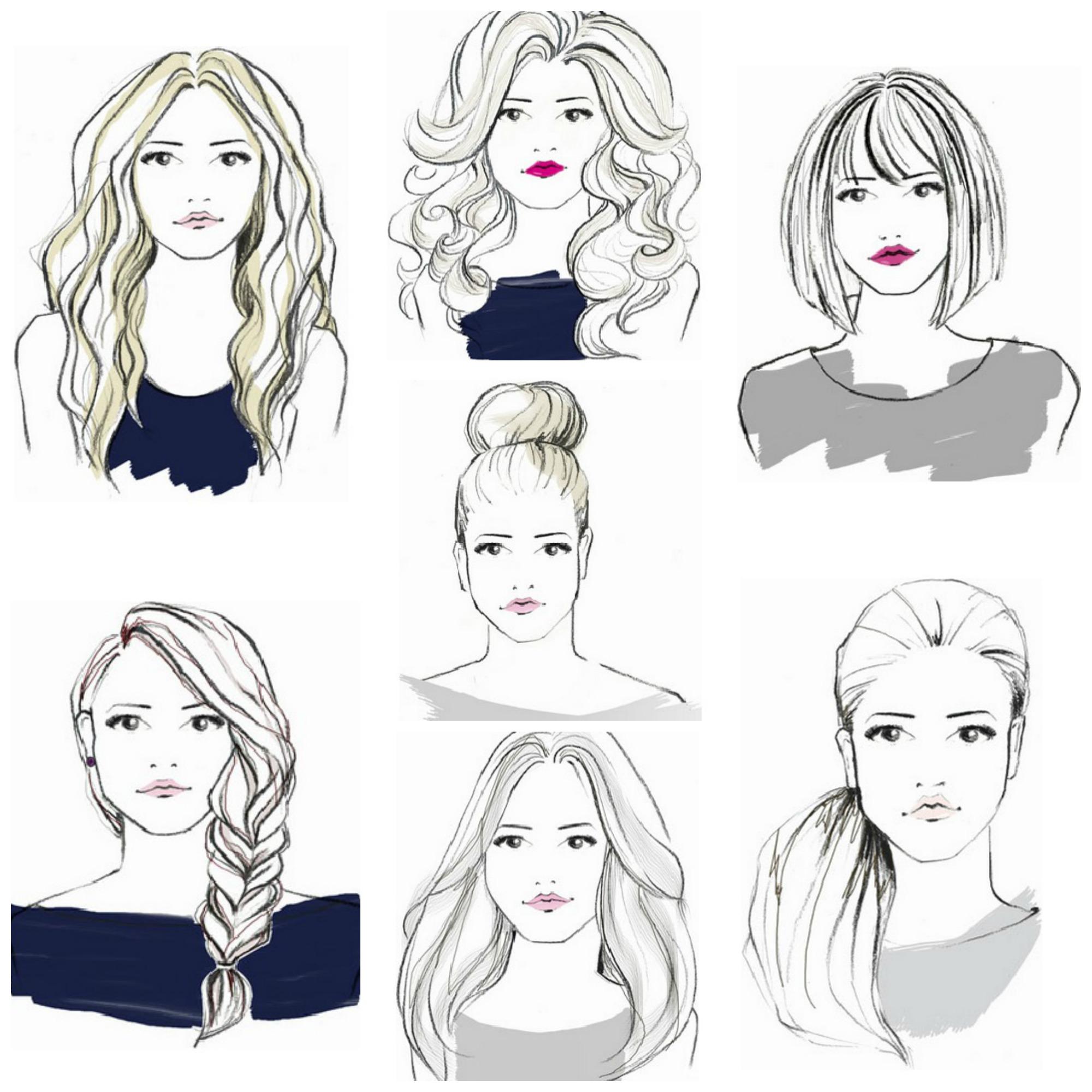 Top 10 Graphic of Dry Bar Hairstyles   Joshua Tyus Journal