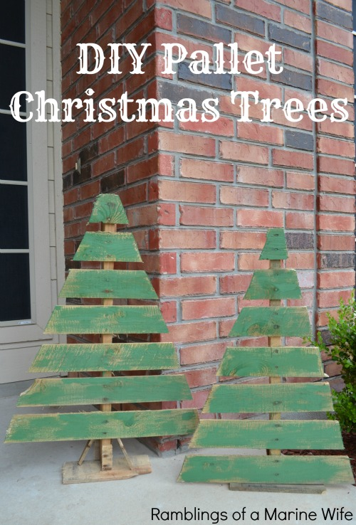 Diy Pallet Christmas Trees Nothing But Room