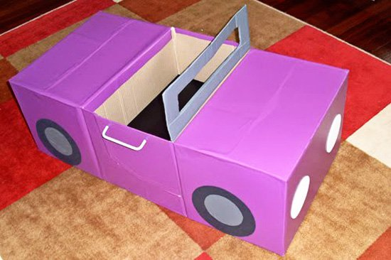 16 Kid Friendly Ideas For Cardboard Boxes After A Pcs