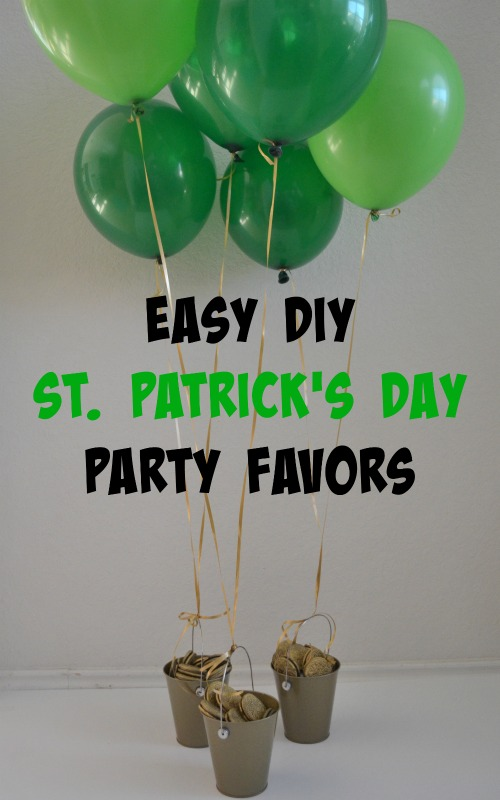 Easy DIY St  Patrick's Day Pot 'O Gold   Nothing But Room