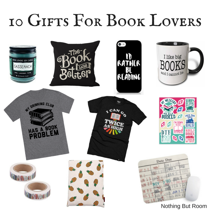 gifts for book lovers 10 gifts for book nothing but room 29840
